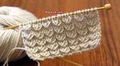 Örgü Bahar Yeli Modeli Şiş İşi Örek Videolu anlatımı ile Kolay ve Farklı Yeni Örgü Şiş Örnekleri arayan hanımlar hemen bu örneği yapmaya başlayabilirsiniz. Kabarık deseni yumuşak ve güzel Örgü dese… Knitting Stiches, Knitting Videos, Knitting Charts, Baby Knitting Patterns, Crochet Stitches, Embroidery Patterns, Knit Crochet, Crochet Patterns, Booties Crochet