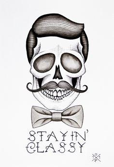 ☆ Artist Christina Platis ☆ #skull
