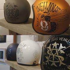 Designer Focus: BMD - Bikes, Skulls, Helmets and Watercoloured Manliness