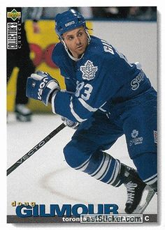 DOUG GILMOUR 1995-96 TORONTO MAPLE LEAFS Upper Deck NHL Collector's Choice 1995-1996 - Anteprima raccolta - laststicker.com Hartford Whalers, Wayne Gretzky, Florida Panthers, New York Islanders, New Jersey Devils, Los Angeles Kings, Edmonton Oilers, Hockey Cards, Trading Card Database