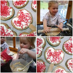 Kids Cooking - Valentine's Cookie Pops