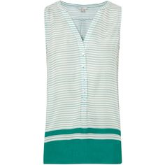 Joie Ameritt B Striped Silk Top ($275) ❤ liked on Polyvore