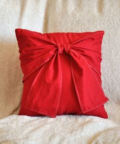 would be fun to do holiday color pillow slipcovers for the couch.
