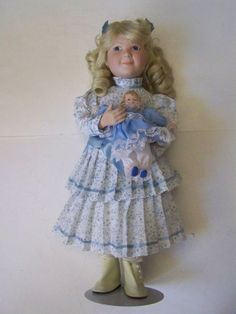 Nellie Olson Little House on the Prairie with Doll Blonde Curls Mean Girl 76313 #Dolls