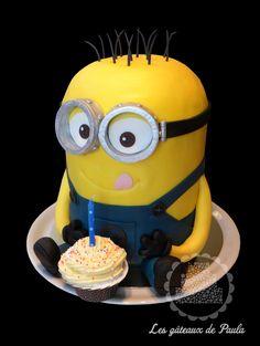 "Minion ""Bob"" cake!"