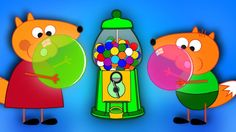 FOX FAMILY Baby Crying vs Bubble Gum New Episodes! Finger Family Song Nu...
