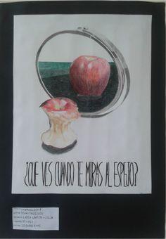 (Composición 8) Imagen de composición lápiz grafito + color.