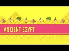 ▶ Ancient Egypt: Crash Course World History. Mystery of History Volume Lessons 24 6th Grade Social Studies, Teaching Social Studies, History Class, Teaching History, History Activities, Crash Course World History, Ancient World History, Educational Videos, John Green
