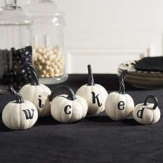 Halloween Tabletop Decor - Halloween Mantel Decor - Grandin Road