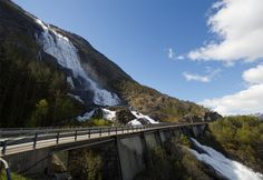 Langfoss, Rogaland in Norway