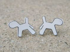 5SOS Ketchup Earrings  5SOS Ketchup the Dog by TheFeelsFactor, $8.00
