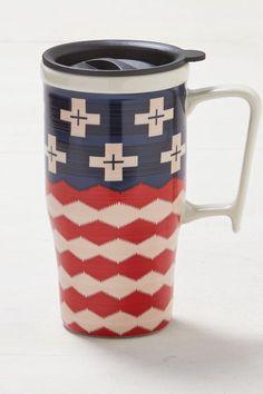 AEO Pendleton Brave Star Travel Mug, Americana