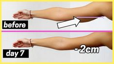 How to SLIM DOWN your ARMS in ONE WEEK *super fast results*