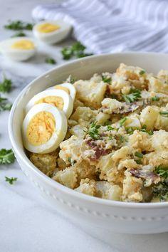 Whole30 Deviled Egg Potato Salad - Mary's Whole Life