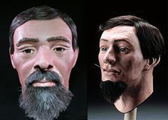 USS Hunley reconstruction of human remains