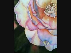 Painting a Wild Rose In Watercolor by Lori Andrews