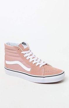 1b31caa74a Vans Women s Pink Sk8-Hi Sneakers Sk8 Hi