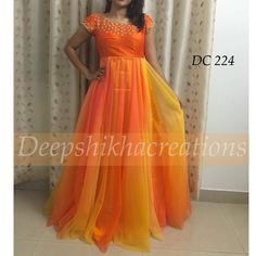 Long Gown Dress, Frock Dress, Saree Dress, Long Frock, Long Gowns, Designer Anarkali Dresses, Designer Dresses, Frock Models, Kids Party Wear Dresses