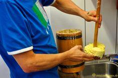 Butter frisch aus dem Butterfass