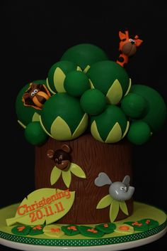 Jungle tree cake by MyCakes.com.au, via Flickr