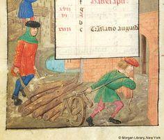 1490 February, a book of hours (PML S.7, fol. 2v), c.