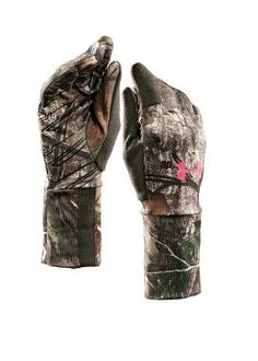 8e9b970d1a3 Cabela s  Under Armour® Women s Scent-Control Liner Gloves Hunting Camo