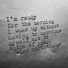 Leo Christopher • Letting Go Alone #writer