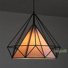 Ferro novo candelabro em forma de diamante Gaiola Lâmpada do teto Colgante Luz Iluminação | Casa e jardim, Abajures, luminárias e ventiladores de teto, Candelabros e lustres | eBay!