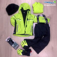 #AngoloOutfit neve bambina Tuta e pile #CMP, guanti #Reusch, calze termiche #MiCo, cappello #Fun&Fun