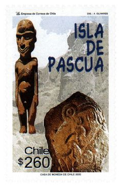 SELLO # 1983 ENLARGE Chile, Easter Island, Stamp Collecting, Science And Nature, Travel Posters, Postage Stamps, Old World, South America, Literature