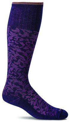 df04049ba Sockwell Damask - Women s Moderate Compression Socks 15-20 Black - S M  (4-7.5)