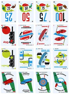 Mille bornes card game remembering those happy days pinterest card games game and cards - Coup fourre mille bornes ...