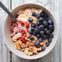 NEW RECIPE at thepaleofix.com is an occasional go to post workout snack when I'm not scarfing down eggs and sweet potatoes -- protein acai bowl! Go check it out now and fuel your workouts in style.