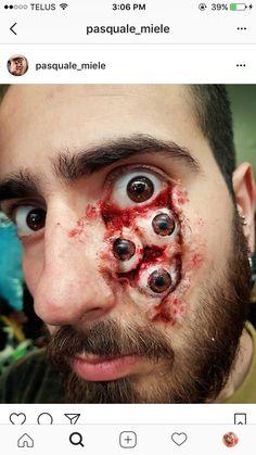 Schau mir in die Augen, Kleines! Cool nicht nur für #halloween