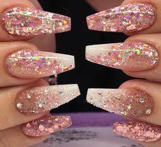 #acrylicnails #glitternails #nailporn #nailsofinstagram #nailtech #nailgasm #nailpromote #nailart #nails #nude #nudenails #stripenails #naillove #nails2inspire #nailswag #nailsdid #glitternails #glitter #babyboomer #nudeombre #glitterfade #fadednails #showscratch #rosegoldnails #glitterartynails #blackandsilver