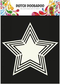Dutch Doobadoo Dutch Shape Art Star