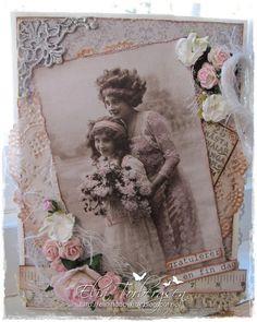 Elins Hobbykrok: beautiful mother & daughter <3