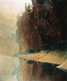 Pintura - por Zdzislaw Beksinski