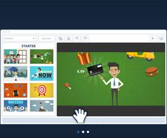 """""""goanimate""""  is a really fantastic tool because it allows us to create videos by offering a wide range of backgrounds, sounds, effects and pictures. Also, you can upload your own pictures and add comments to make your video more original."""