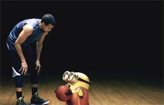 Gif Minion 1338 basketball o golden state warriors stephen curry steph curry