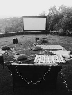 ✔ Movie Night ~ Bachelorette Bucket List. #bachelorette #party #idea