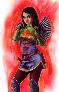 Fighter Mulan
