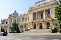 The First University inaugurated in Romania at University of Iasi First University, Beautiful Stories, Bucharest, Romania, Buildings, Mansions, House Styles, Places, Home