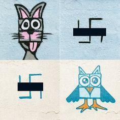 #PaintBack: Mit coolen Graffitis gegen Nazis