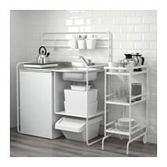 SUNNERSTA Mini-kitchen IKEA mini-kitchen you can easily create a practical and inspiring area for cooking, even in a small space. Kitchenette, Mini Kitchen, Kitchen Design Small, Kitchen Remodel, Portable Kitchen, Kitchen Design, Ikea Kitchen, New Kitchen, Ikea