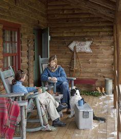 Colecție de antichități într-o fermecătoare cabană din Vermont, SUA – Fabrika de Case