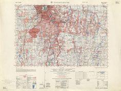 Jakarta 1953 By the Army Map Service, US Army, Washington DC 1959