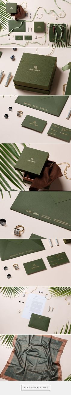 Atolye Gozde Branding on Behance {cT} More