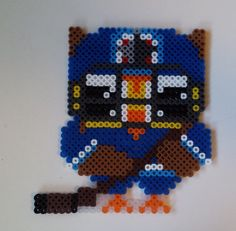 To commemorate our NHL hockey team, the Winnipeg Jets, making it to the playoffs in a perler bead pattern I designed.