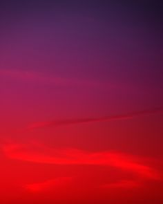 """New York-based artist Eric Cahan waits for the perfect moments to capture these serene shots: his series of photos, titled """"Sky Series,"""" are flawless studies of light and color in the sunrise and sunset hours. Every photo appears as a simple gradient of colors, but the more you stare into the sky, the more you can perceive the minute variations of depth and color in each shot."""